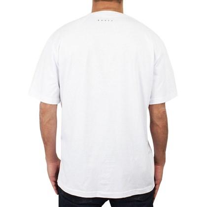 Camiseta Extra Grande Rusty Fin Branca