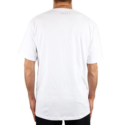 Camiseta Extra Grande Rusty Fractal Branca