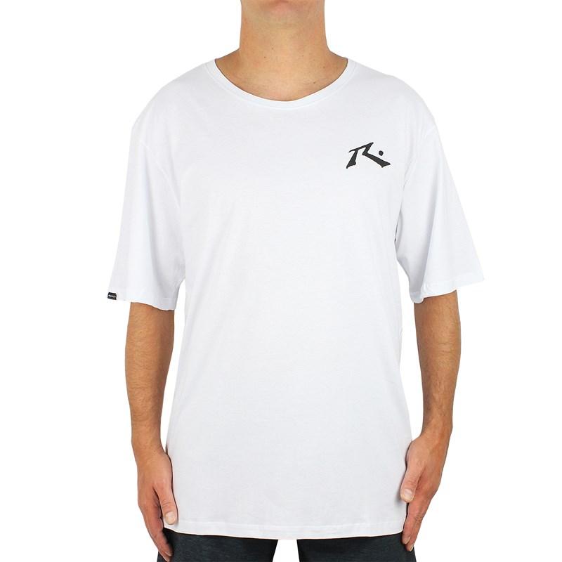Camiseta Extra Grande Rusty Hide And Seek Branca