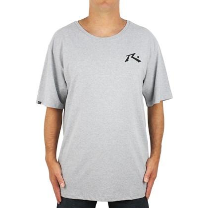 Camiseta Extra Grande Rusty Hide And Seek Cinza Mescla
