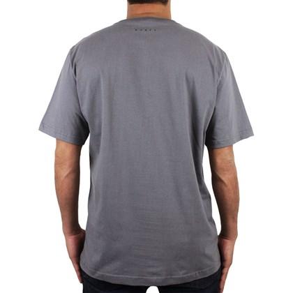 Camiseta Extra Grande Rusty Organic Chumbo