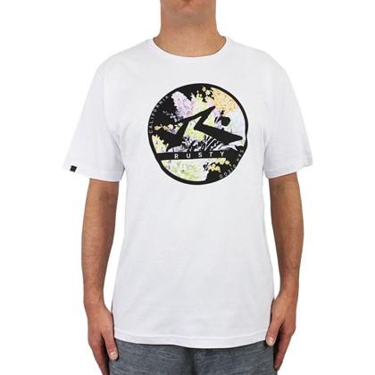 Camiseta Extra Grande Rusty Punch Branca