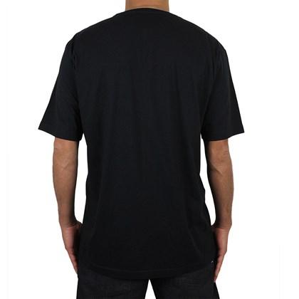 Camiseta Extra Grande Rusty R Dot Preta