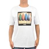 Camiseta Extra Grande Rusty Smoothie Branca