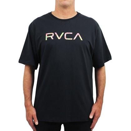 Camiseta Extra Grande RVCA Big VA Wonder Black