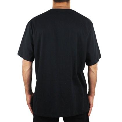 Camiseta Extra Grande RVCA Double Major Black