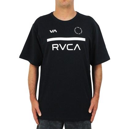 Camiseta Extra Grande RVCA Mid Bar Black