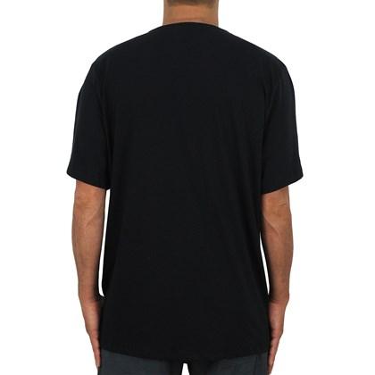 Camiseta Extra Grande RVCA VA Preta