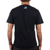 Camiseta Extra Grande Surf Alive Logo Preta