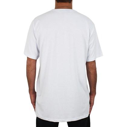 Camiseta Extra Grande Thrasher Flame LogoBranca