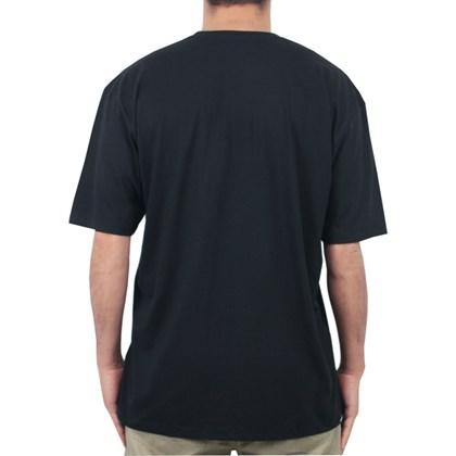 Camiseta Extra Grande Urgh Crew Preta
