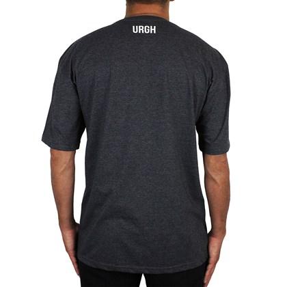 Camiseta Extra Grande Urgh Geometry Preto Mescla