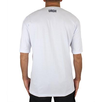 Camiseta Extra Grande Urgh Pocket Logo Branca