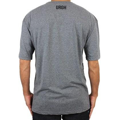 Camiseta Extra Grande Urgh Poligon Chumbo Mescla