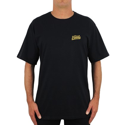 Camiseta Extra Grande Vissla Home Run Black