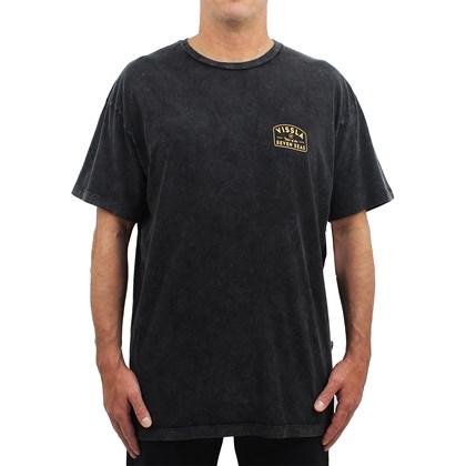 Camiseta Extra Grande Vissla Plain Sailing Black