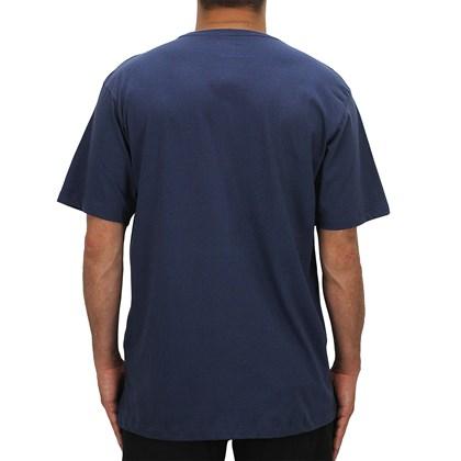 Camiseta Extra Grande Volcom Crisp Hawaii Azul