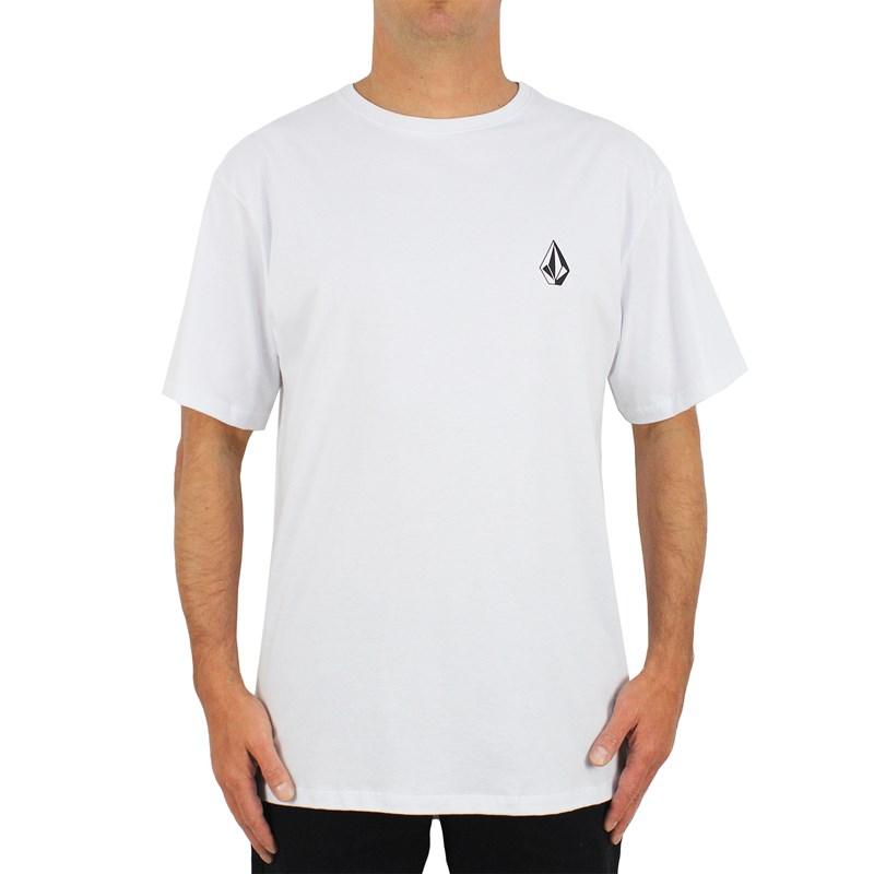 Camiseta Extra Grande Volcom Deadly Stone White