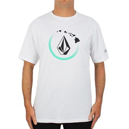Camiseta Extra Grande Volcom Halo Stone White