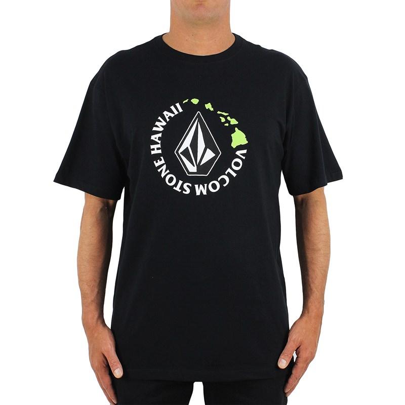 Camiseta Extra Grande Volcom Hi Series Black
