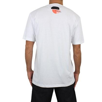 Camiseta Extra Grande Volcom Over Ride Branca