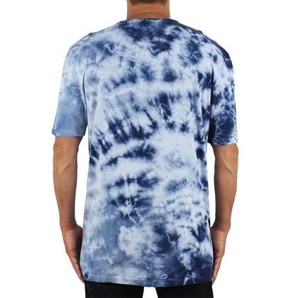 Camiseta Extra Grande Volcom Static Noise Tie Dye Blue