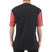 Camiseta Extra Grande Wave Giant Nasa Preta