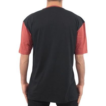 Camiseta Extra Grande Wave Giant Nasa Preta