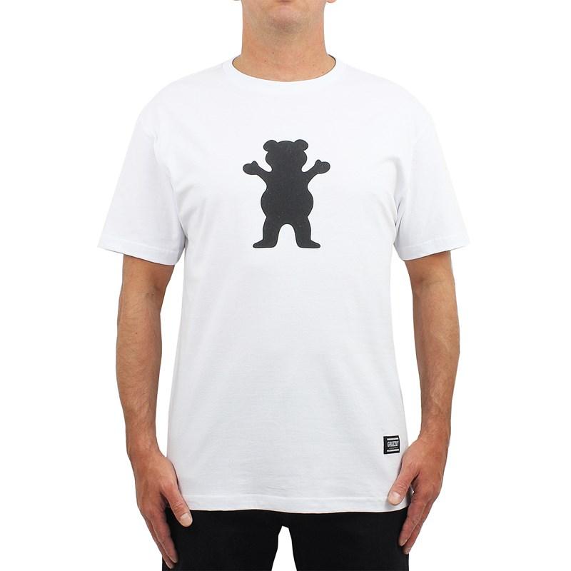 Camiseta Grizzly Og Bear Puff White