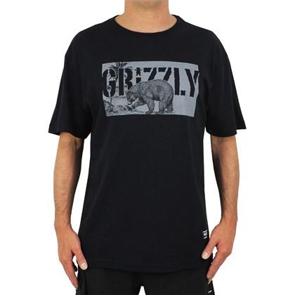 Camiseta Grizzly Paradise Black