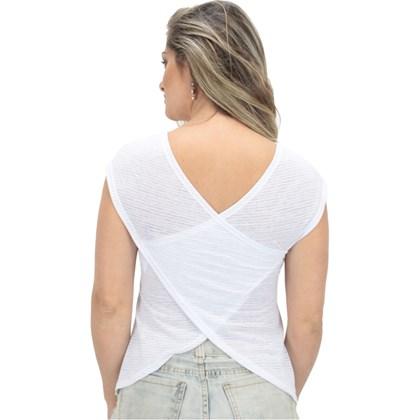 Camiseta Hang Loose Hawai Feminina Branca