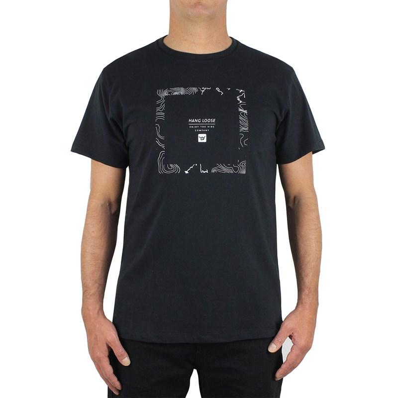 Camiseta Hang Loose Squared Black