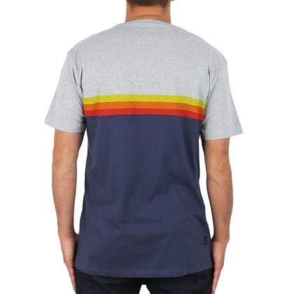 Camiseta Hang Loose Sunset Cinza Mescla