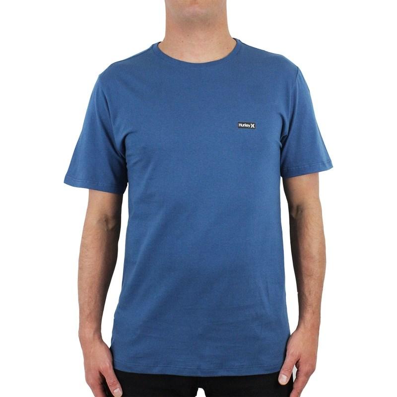 5eea6dc79c4c0 Camiseta Hurley Basic Azul Marinho - Surf Alive