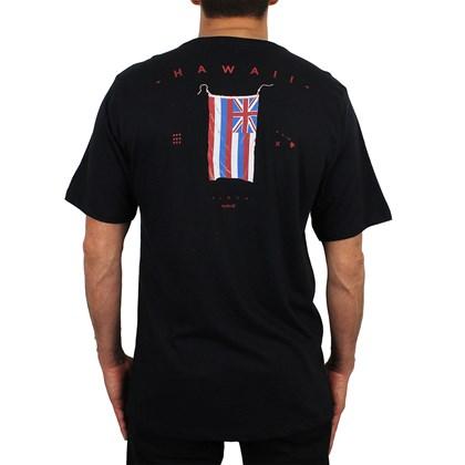 Camiseta Hurley Hawaii Pride Preta