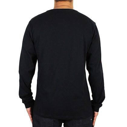 Camiseta Hurley JJF Nautic Manga Longa Preta
