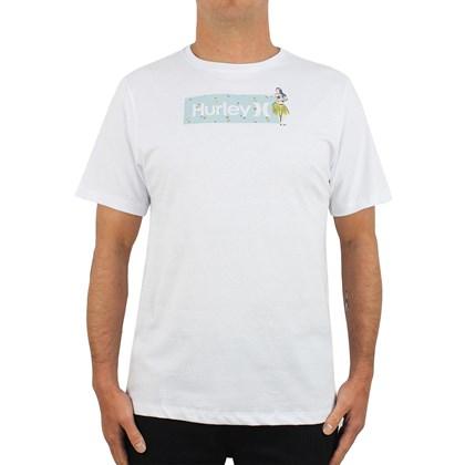 Camiseta Hurley One & Only Box Windansea White