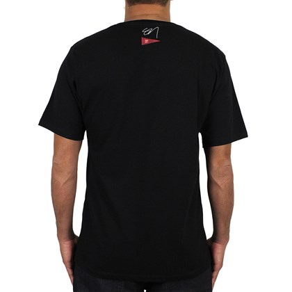 Camiseta Hurley Sig X JJF Kahuliwae Preta