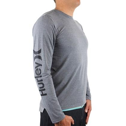 Camiseta Hurley Strong Cinza Mescla
