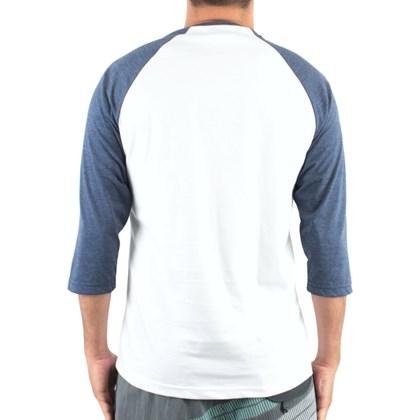 Camiseta LRG Raglan Especial 3/4 Marinho Mescla