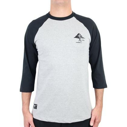 Camiseta LRG Raglan Especial 3/4 Preto