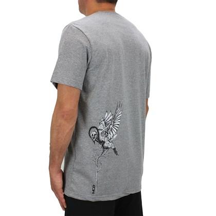 Camiseta MCD Bird Boom Cinza Mescla