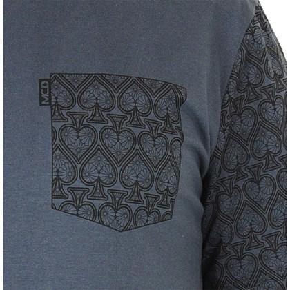 Camiseta MCD Regular Pattern Azul