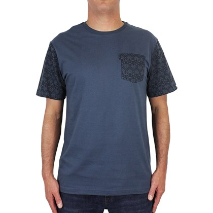 Camiseta MCD Regular Pattern Azul