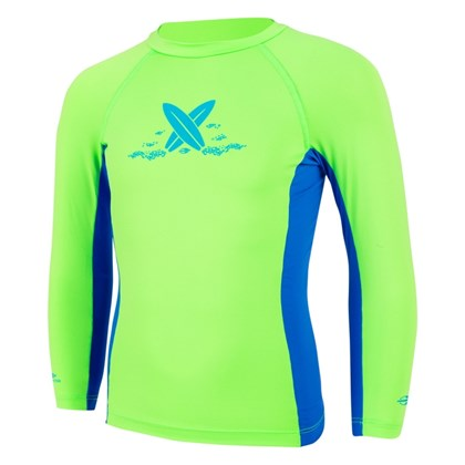 Camiseta Mormaii Baby Com Proteção UV Verde Fluor
