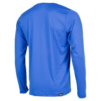 Camiseta Mormaii com Proteção UV Manga Longa Azul