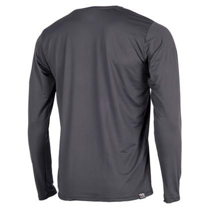 Camiseta Mormaii com Proteção UV Manga Longa Preta