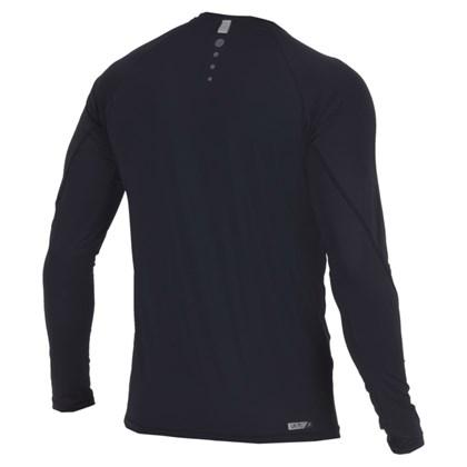 Camiseta Mormaii Dry Flex com Proteção UV Manga Longa Preta
