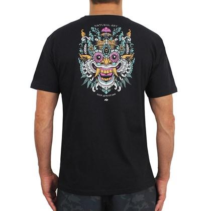 Camiseta Natural Art Bali High Black