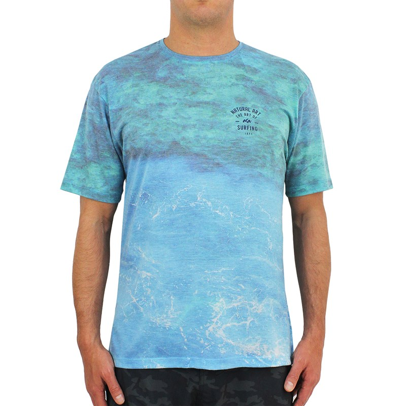 Camiseta Natural Art Especial Panoramic Blue
